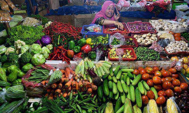 Polres bontang sidak pasar rawa indah