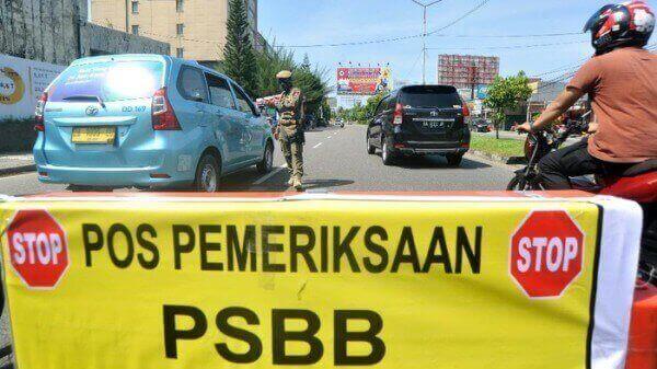 Kalimantan Timur Belum melonggarkan pengetatan aktivitas