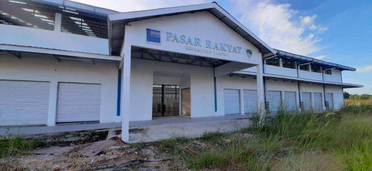 pasar rakyat Kecamatan Babulu, Kabupaten PPU