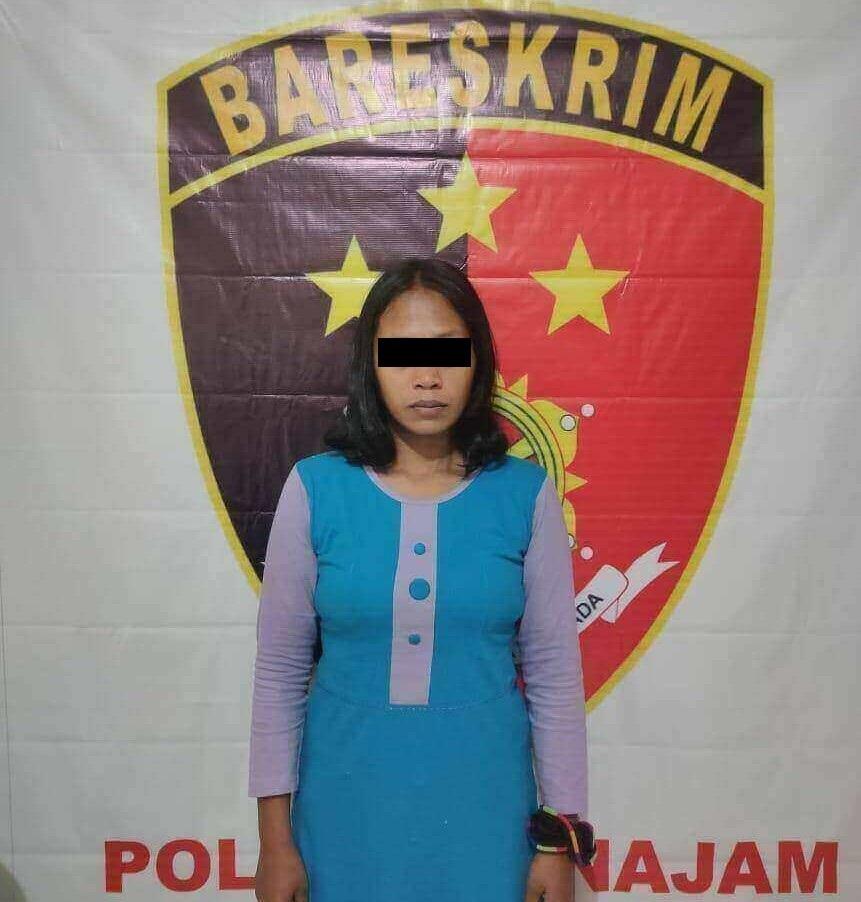 Kapolsek Penajam, AKP Simon Tammu: pencuri yang aksinya meresahkan warga dalam beberapa bulan terakhir di Kelurahan Penajam