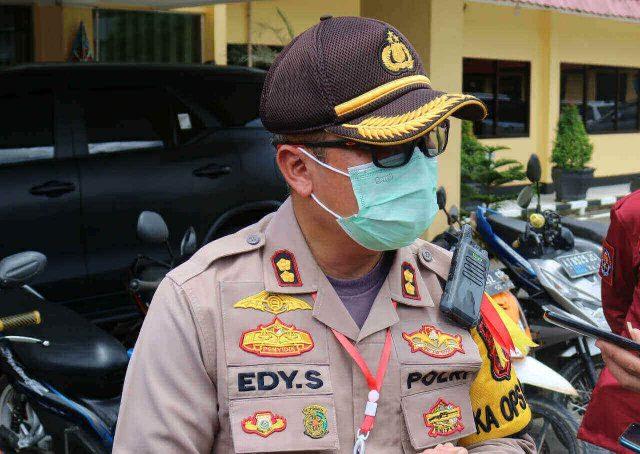 Jelang Pemilihan Umum Kepala Daerah (Pilkada) tahun 2020 di Kabupaten Berau, Kapolres AKBP Edy Setyanto Erning berpesan kepada seluruh personelnya