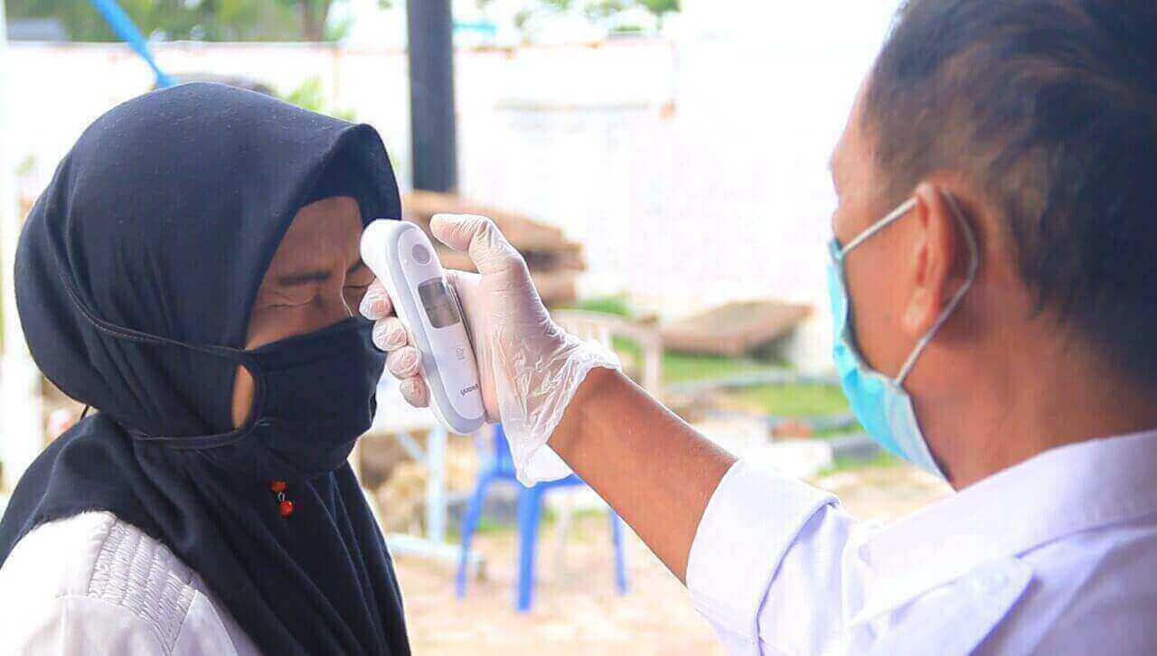 KPU Balikpapan terapkan Protokol Kesehatan Saat Pelantikan Panitia Pemungutan Suara PPS