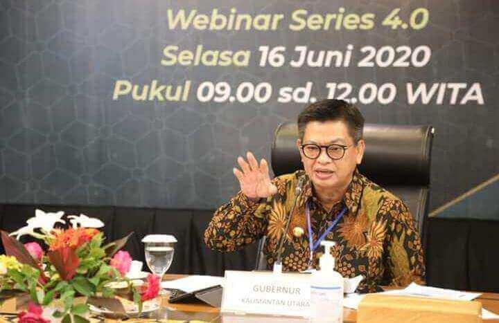 Gubernur Kalimantan Utara Irianto Lambrie Targetkan Pertumbuhan 4,62 Persen