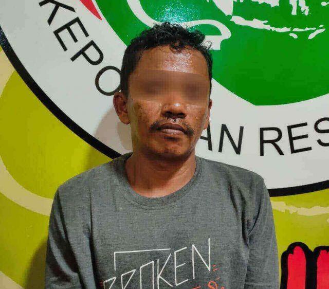 Buruh Harian di PPU Ditangkap karena Main Sabu