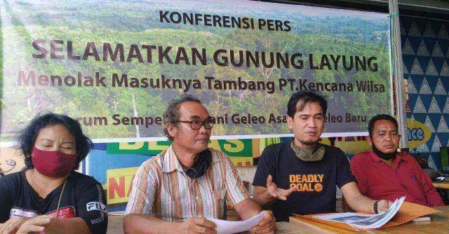 warga Desa Geleo Asa dan Geleo Baru Kecamatan Barong Tongkok Kabupaten Kutai Barat tolak tambang batu bara