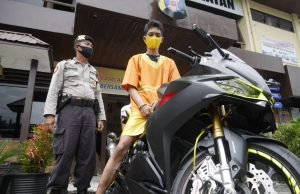 karyawan sakit hati, Kesal Sering Dilecehkan, Karyawan Curi Motor Sport Milik Bos (Honda CBR)