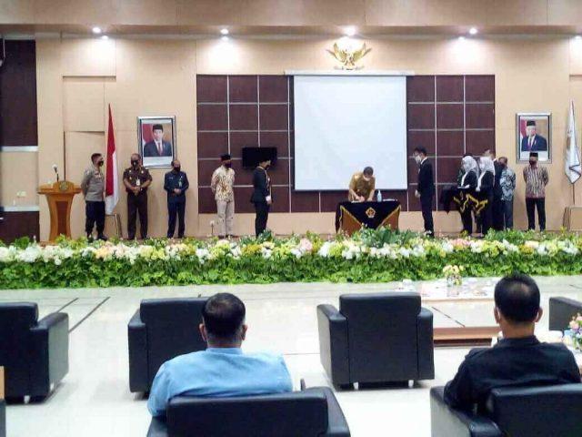 BPK Perwakilan Kaltim Deklarasikan Wilayah Bebas Korupsi - headlinekaltim.co