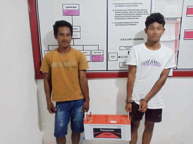 Bobol Rumah Sarang Walet, Dua Pria Diciduk