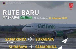 Citilink Buka Rute Samarinda-Surabaya 11 Agustus - membuka rute baru Samarinda-Solo - headlinekaltim.co
