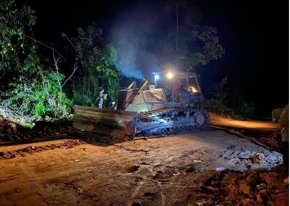 Dua Pemodal Tambang Ilegal di Tahura Bukit Soeharto Dibekuk