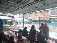 Libur Iduladha, Kolam Renang CCP Park Palaran Diserbu Pengunjung - headlinekaltim.co