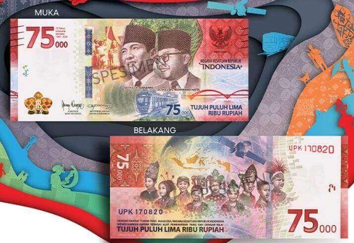 Merapat, Bro! BI Buka Penukaran Uang Khusus Kemerdekaan Rp 75.000 Mulai Besok - headlinekaltim.co