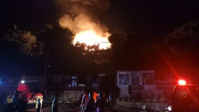 Sebanyak 14 Rumah di Kelurahan Prapatan Ludes Terbakar