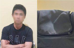 Terekam CCTV, Anak Pengusaha Curi Berbagai Mesin Pertukangan Senilai Rp 70 Juta - mencuri alat mesin