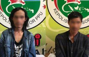 Edarkan Sabu, Dua Pria Asal Paser Diamankan di Hotel PPU