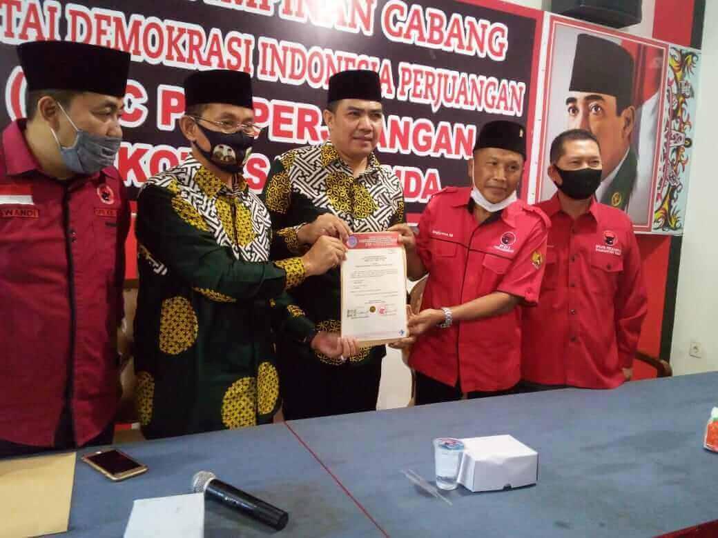 Andi Harun-Rusmadi Wongso Terima Dukungan Resmi PDIP - headlinekaltim.co