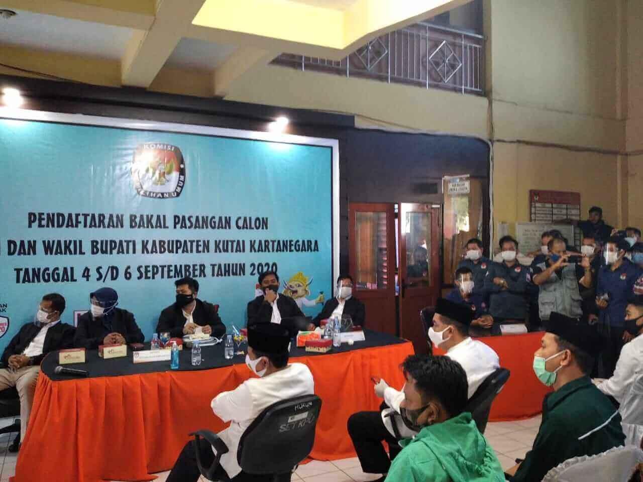Besok, AYL-Suko Bawa Perbaikan Kekurangan Berkas Pencalonan ke KPU Kukar - headlinekaltim.co
