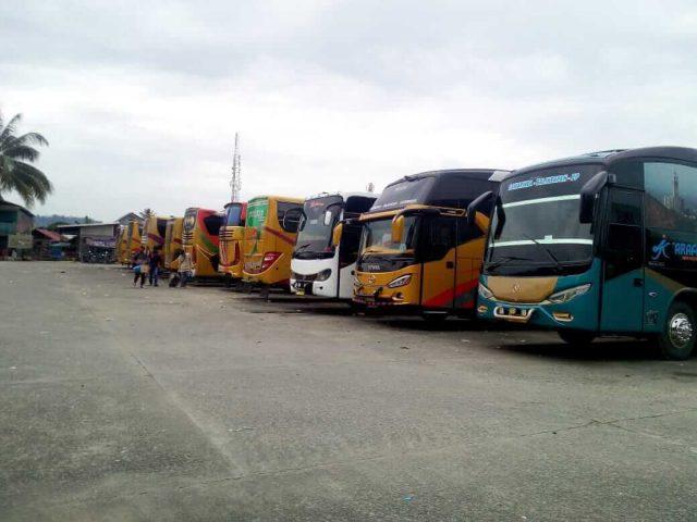 Terminal Dibuka Kembali, Bus Samarinda-Banjarmasin Enggan Beroperasi