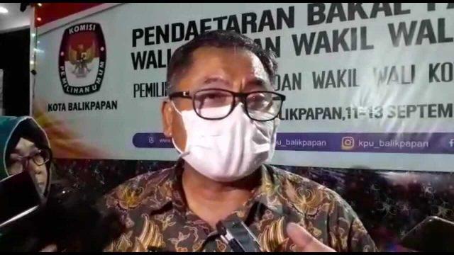 Hanya Rahmad-Thohari Daftar ke KPU Balikpapan  - headlinekaltim.co