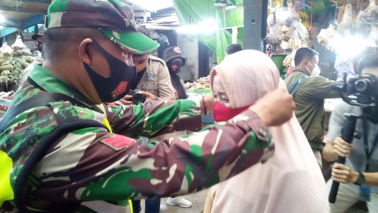 Polresta Samarinda Gelar Apel Penanganan COVID-19, Bagikan 50 Ribu Masker