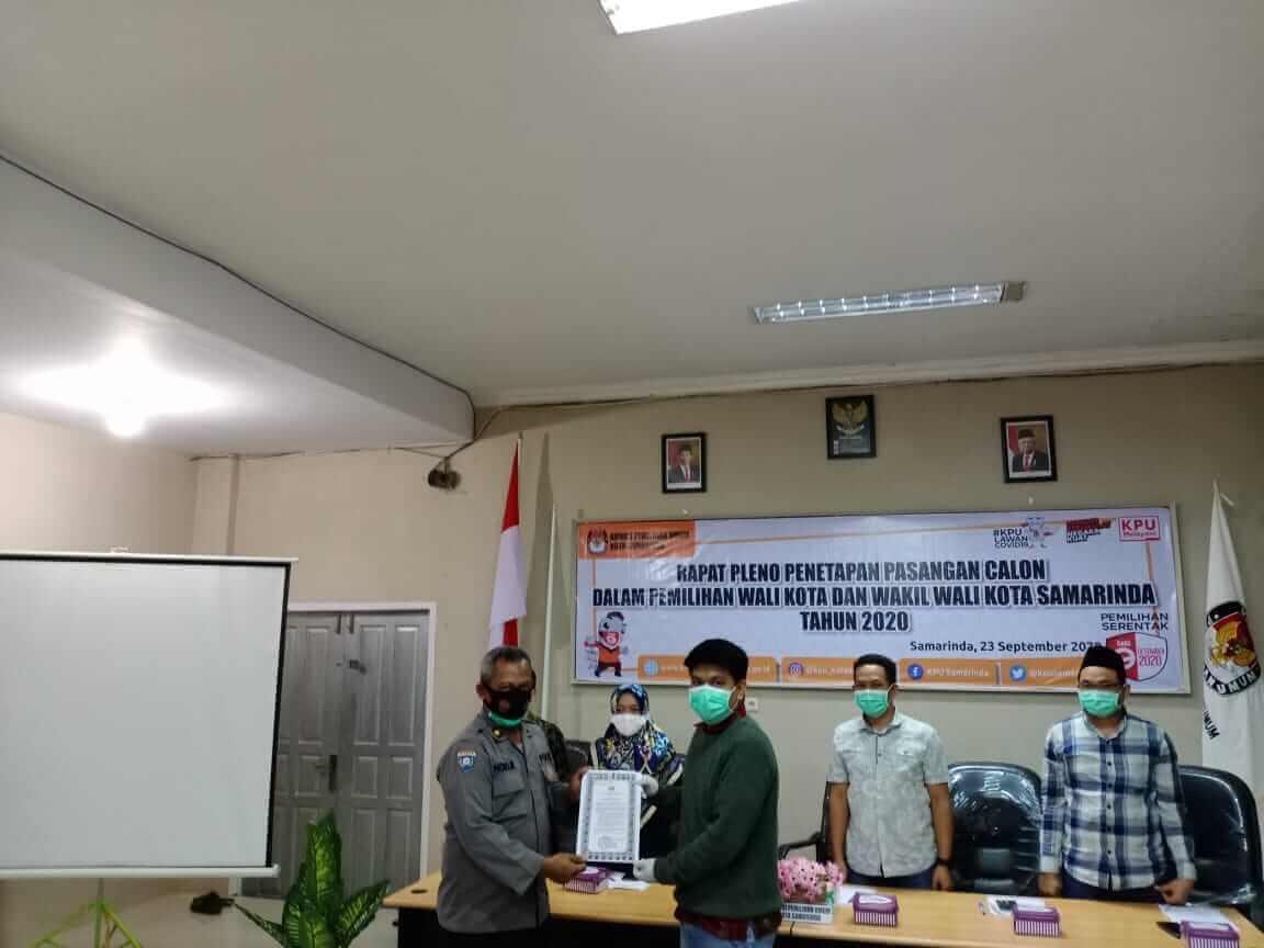KPU Tetapkan Tiga Pasangan Calon di Pilkada Samarinda - headlinekaltim.co