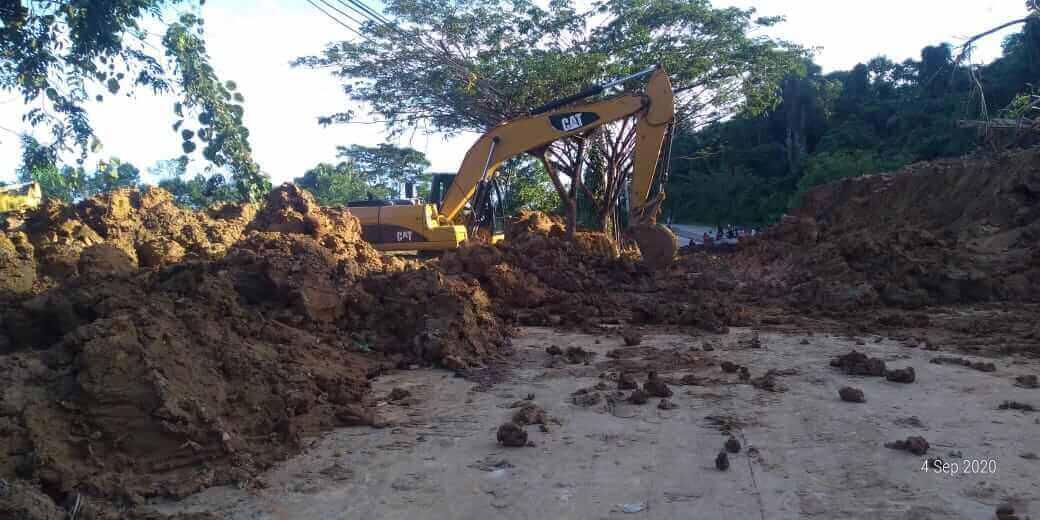 Kisah Mistis 'Penghuni' Bukit Longsor Mangkupalas, Pengendara Motor Kesurupan - headlinekaltim.co