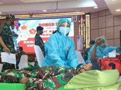 Kodam VI Mulawarman Kumpulkan 150 Kantong Darah - headlinekaltim.co