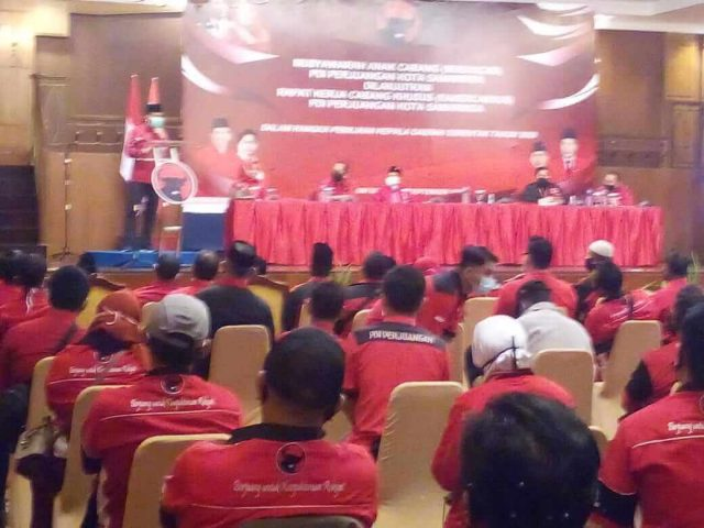 Panaskan Mesin Jelang Pilkada 2020, PDIP Samarinda Gelar Musancab dan Rakercabsus - headlinekaltim.co