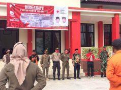 Apel HUT PMI ke-75 di markas PMI Kabupaten PPU. (foto: Teguh/headlinekaltim.co)