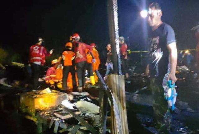 Puslabfor Olah TKP Kebakaran yang Menewaskan Balita 4 Tahun di Lempake Tepian - headlinekaltim.co