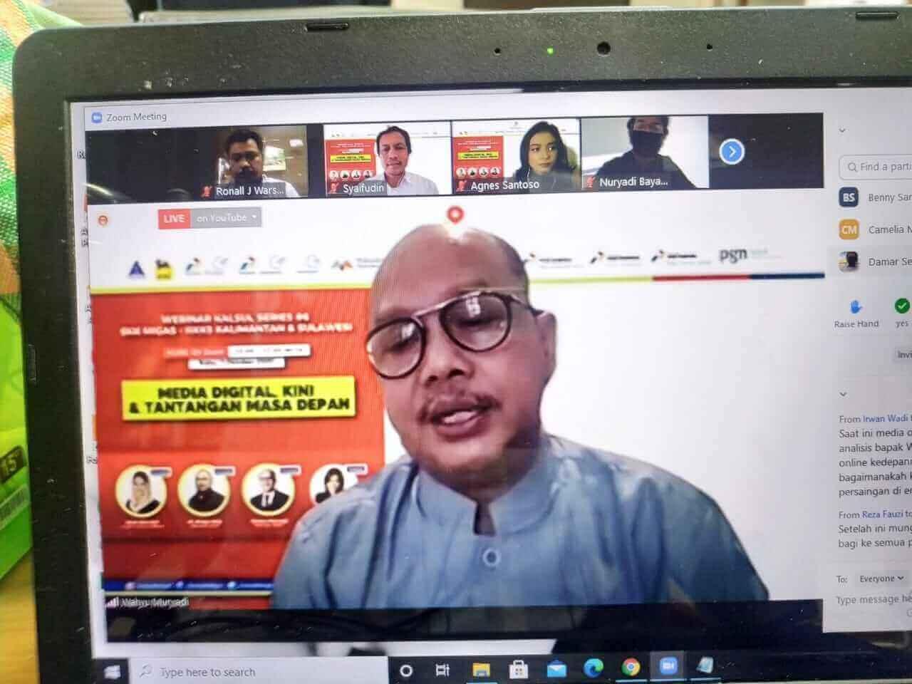 Raih Kepercayaan Pembaca, Kunci Sukses Media di Era Disrupsi - headlinekaltim.co