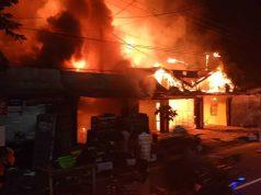 Tujuh Bangunan Ludes Terbakar di Balikpapan, Kebakaran di Kolong Jembatan Terjadi di Samarinda - headlinekaltim.co