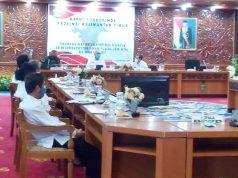 Gubernur Kaltim Pimpinan Rakor Pencegahan Covid-19