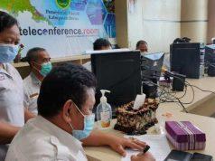 Diskominfo Berau Serahkan Peralatan Teleconference