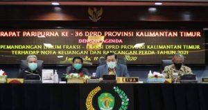 Tekankan Proses Hingga Tingkatkan PAD Rapat Paripurna DPRD Kaltim