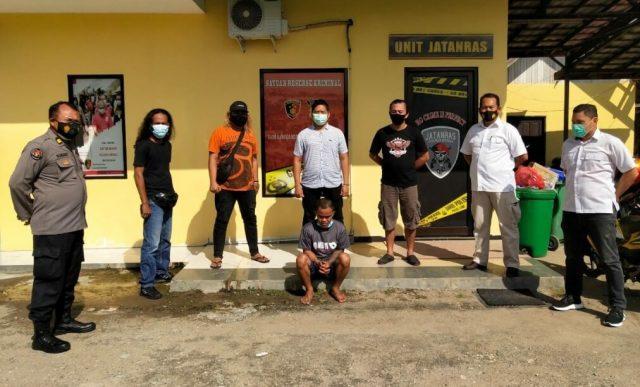 Bunuh Istri, Pemuda Asal Bone Ditangkap di Derawan, Sempat Swafoto di Pelabuhan Samarinda