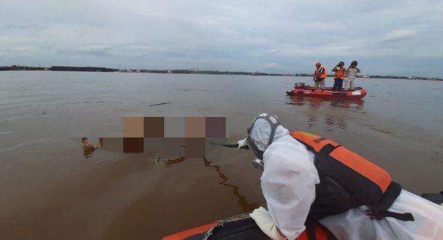 5 Hari Tenggelam, Jasad Warga Sungai Kunjang Mengapung di Perairan Palaran
