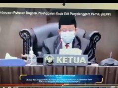 DKPP Berhentikan Erlyando dari Ketua KPU Kukar, Komisioner Disanksi Teguran Keras