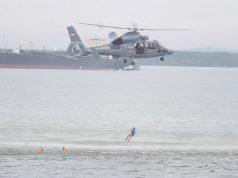 TNI AL Gelar Simulasi Laka Laut di Perairan IKN