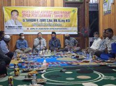 Reses di Desa Loleng, Sarkowi akan Bantu Penampungan Air untuk Masjid