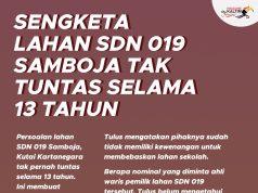 Sengketa Lahan SDN 019 Samboja Tak Tuntas Selama 13 Tahun