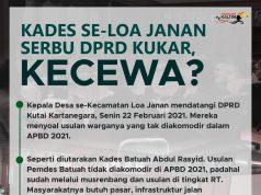 Kades se-Loa Janan Serbu DPRD Kukar, Kecewa?