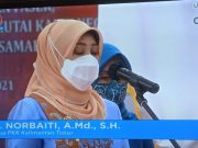 Hj Norbaiti Lantik Ketua PKK dan Deskranasda Kabupaten/Kota