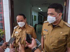 Hari Pertama Ngantor, Andi Harun - Rusmadi Wongso Bahas Penanggulangan COVID-19