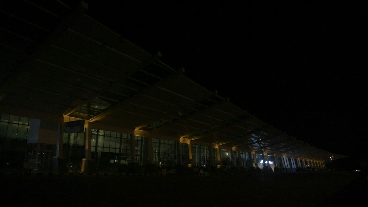 Lampu dan Fasilitas Elektronik di Bandara SAMS Sepinggan Padam 1 Jam