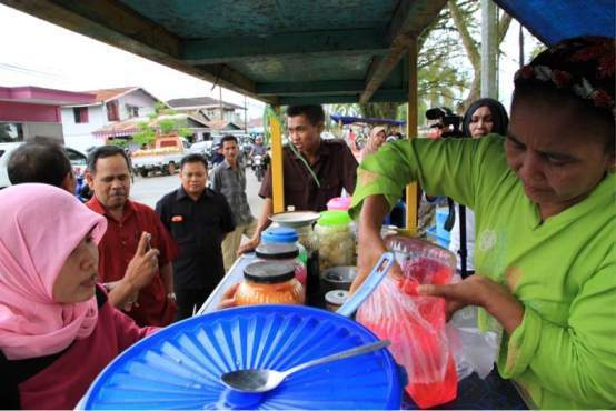 Pedagang Pasar Ramadan Akan Jalani Pemeriksaan Kesehatan