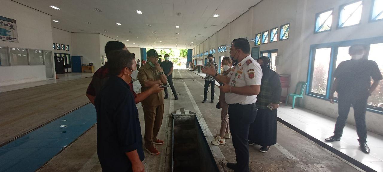 DPRD Samarinda Sidak Tempat Uji Kelayakan Kendaraan Bermotor