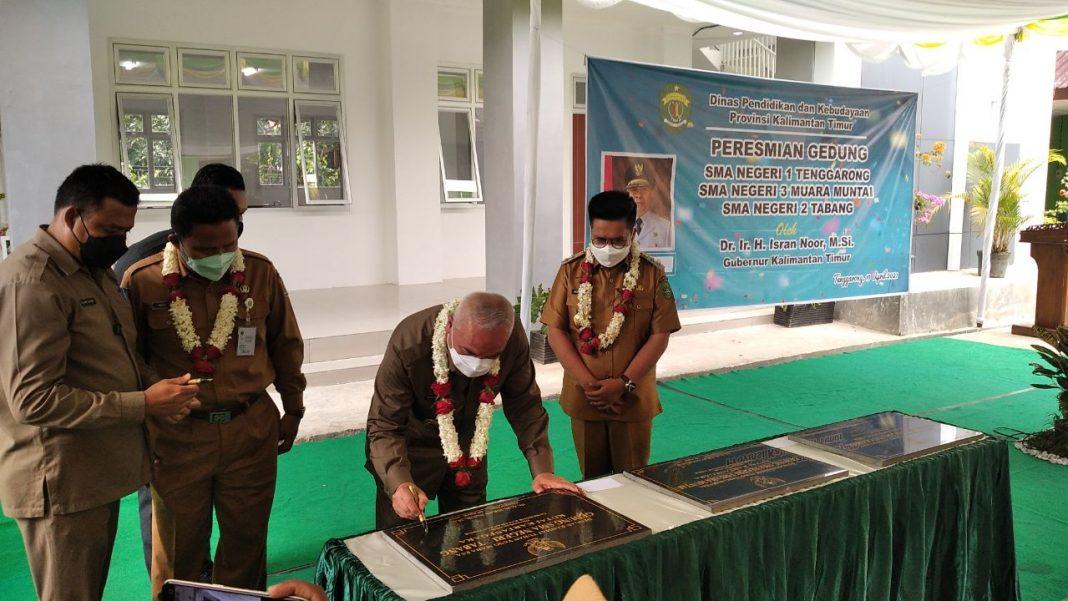 Setelah 8 Tahun Ditunggu, Gubernur Resmikan Gedung Baru SMAN 1 Tenggarong