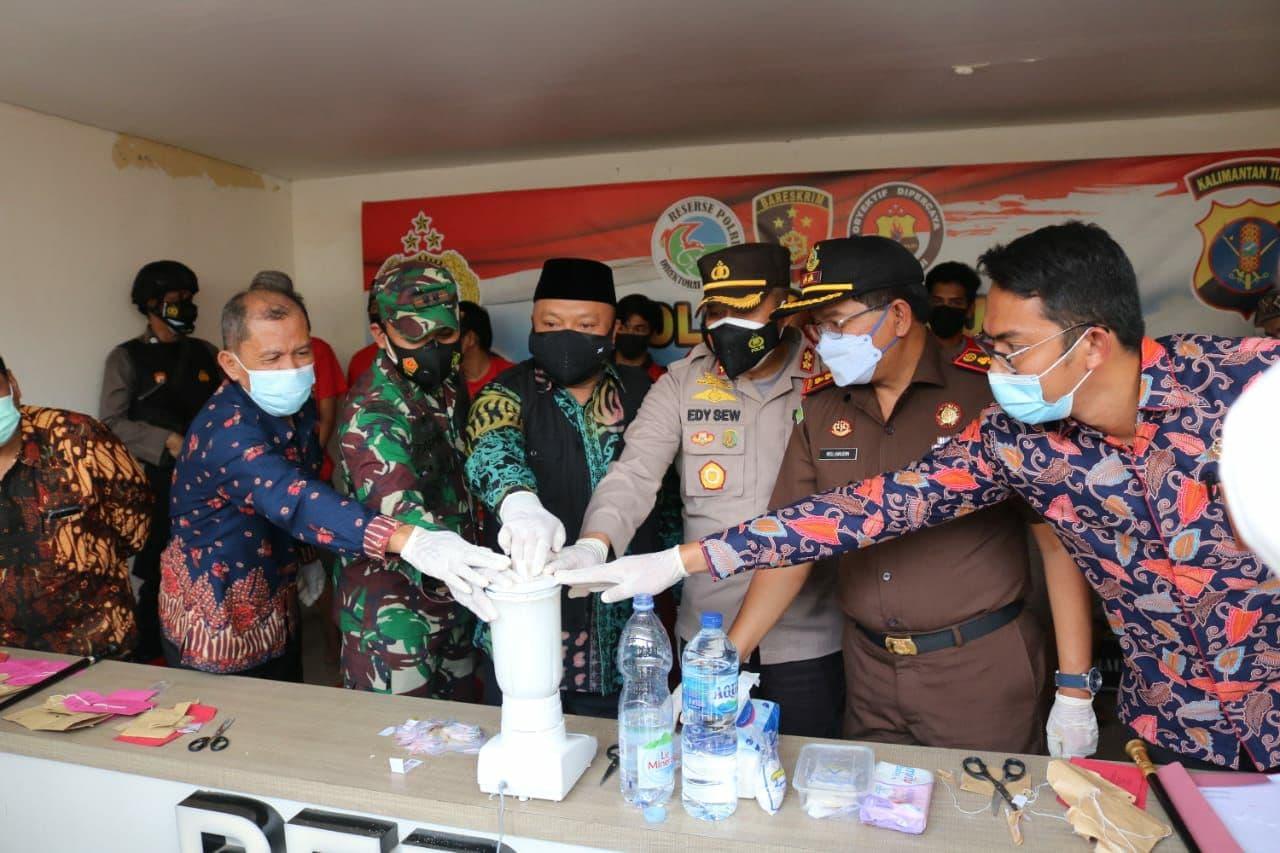 Anggota Polres Berau Ditangkap karena Sabu narkoba