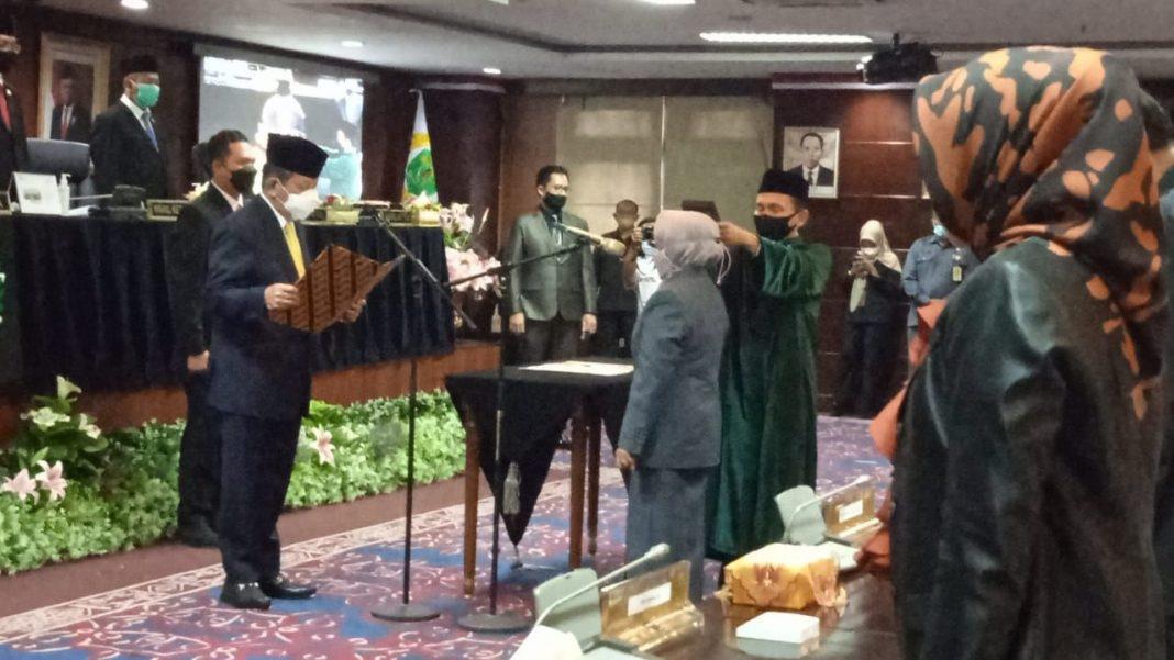 DPRD Kaltim Gelar Pelantikan Sukmawati, Pengganti Almarhum Muspandi